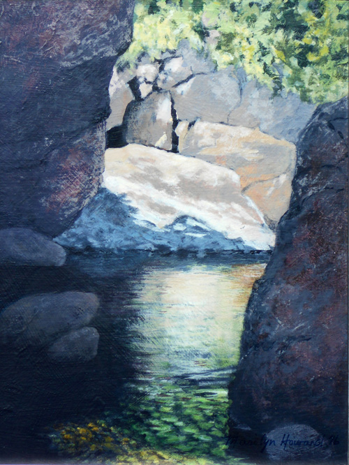 Boulders and Reflections